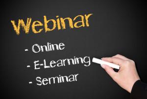 Webinar - Online E-Learning Seminar - Blackboard